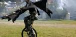 Pest On Unicycle